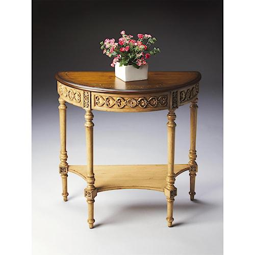 Butler Specialty Company Artist's Originals Demilune Console Table