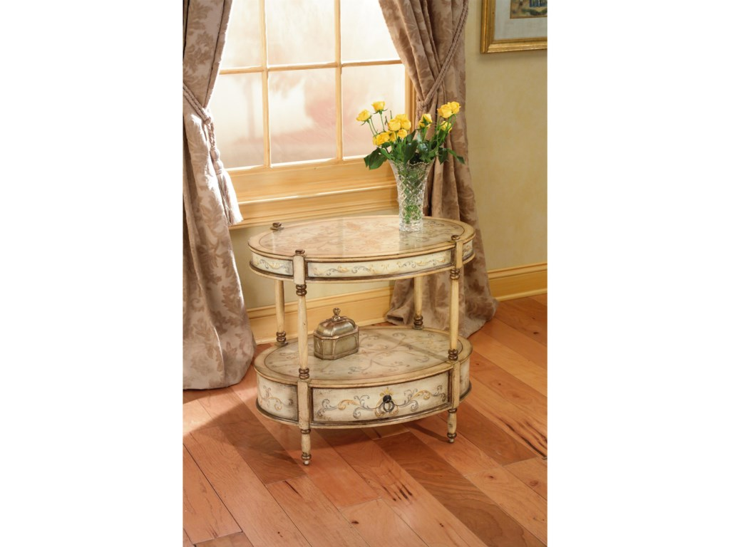 Butler Specialty Company Artist's OriginalsOval Accent Table
