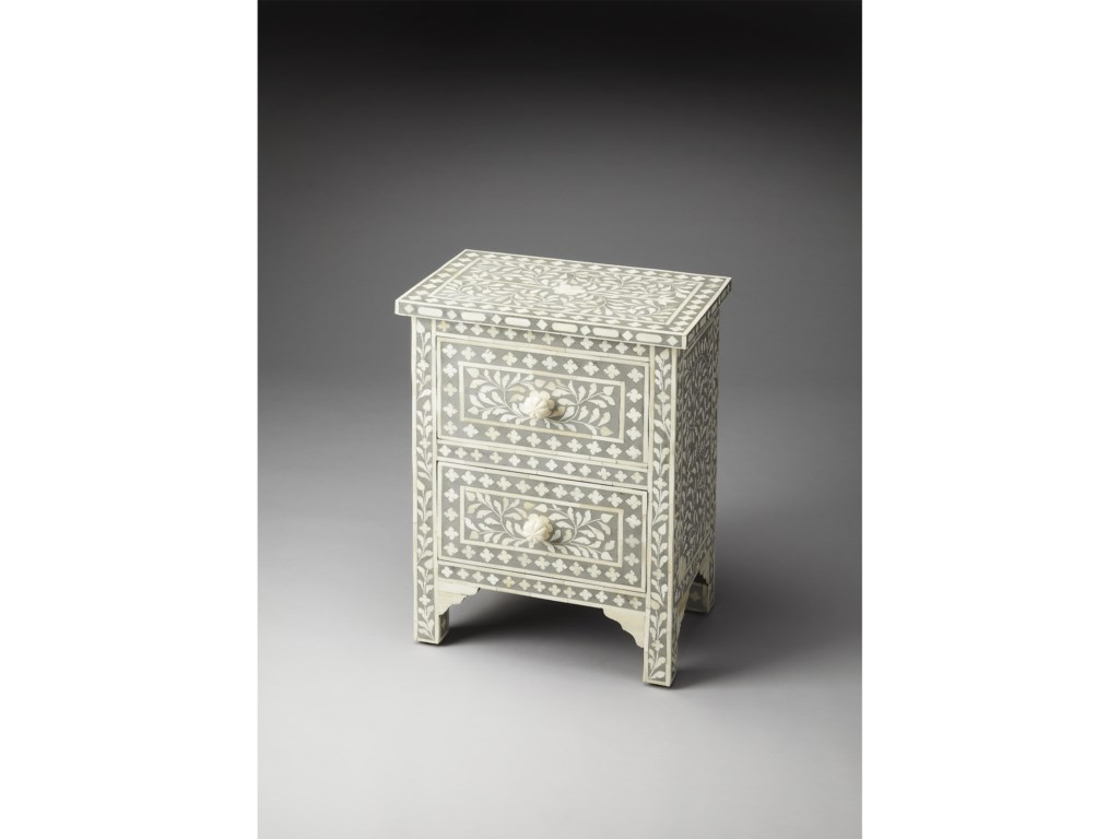 Butler Specialty Company Bone InlayAccent Chest