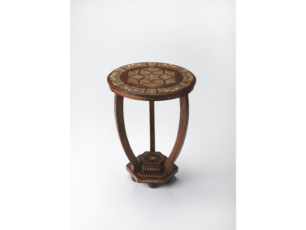 Butler Specialty Company Bone InlayAccent Table