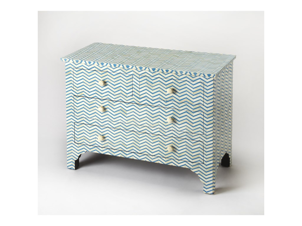 Butler Specialty Company Bone InlayConsole Chest