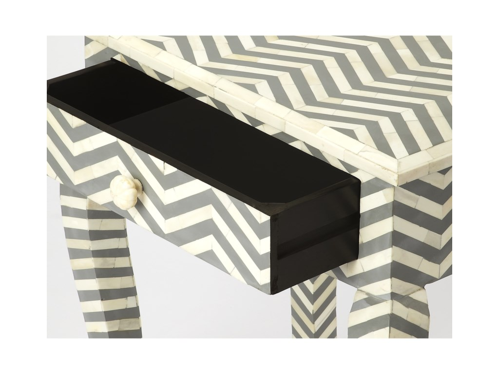 Butler Specialty Company Bone InlayEnd Table