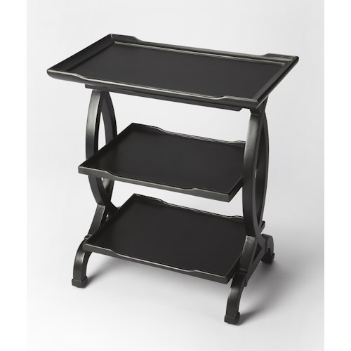 Butler Specialty Company Butler Loft Kimiko Black Licorice Side Table