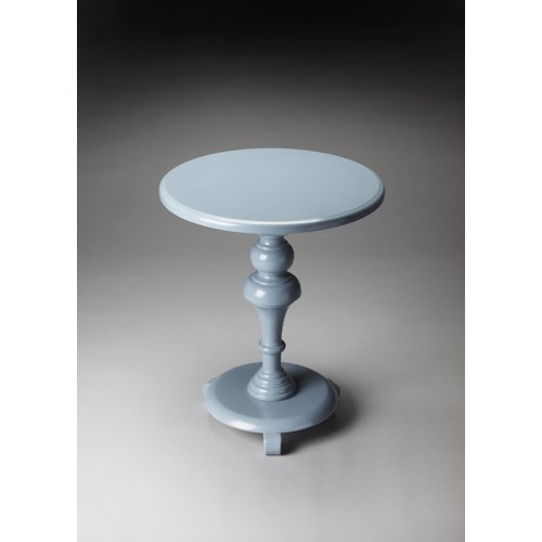 Butler Specialty Company Butler Loft Glossy Wedgewood Pedestal Table