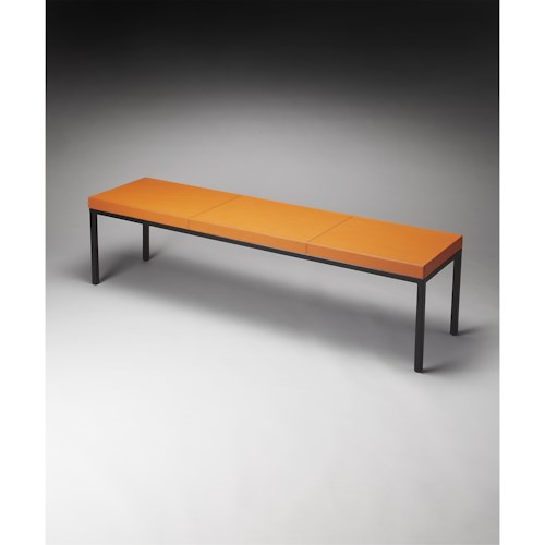 Butler Specialty Company Butler Loft Darden Leather Bench
