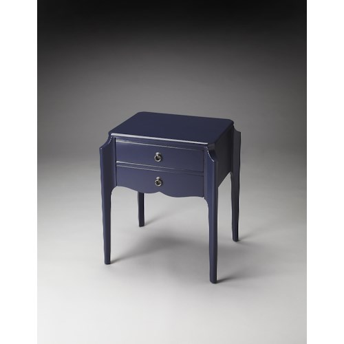 Butler Specialty Company Butler Loft Wilshire Navy Blue Accent Table