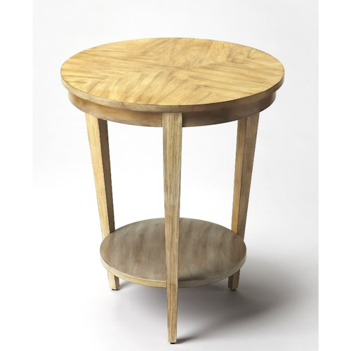 Butler Specialty Company Butler Loft Serenade Driftwood Round Accent Table
