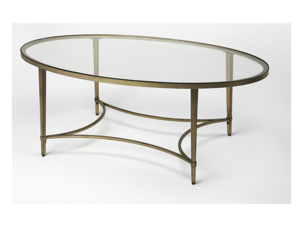 Butler Specialty Company Butler LoftOval Cocktail Table