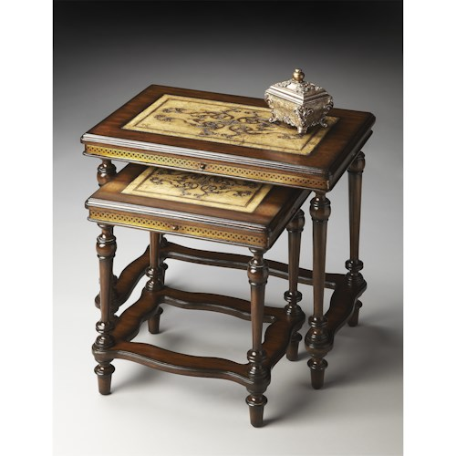 Butler Specialty Company Heritage Nesting Tables
