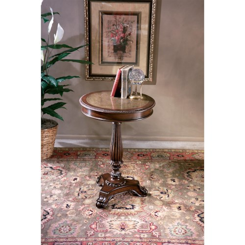 Butler Specialty Company Heritage Round Pedestal Table