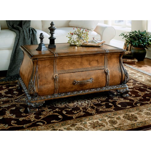 Butler Specialty Company Heritage Bombe Trunk Table