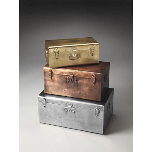 Butler Specialty Company Hors D'oeuvres Storage Trunk Set