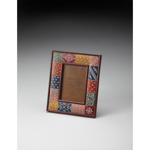 Butler Specialty Company Hors D'oeuvres Hand Painted 5x7 Picture Frame