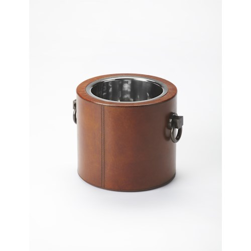 Butler Specialty Company Hors D'oeuvres Leather Wine Cooler