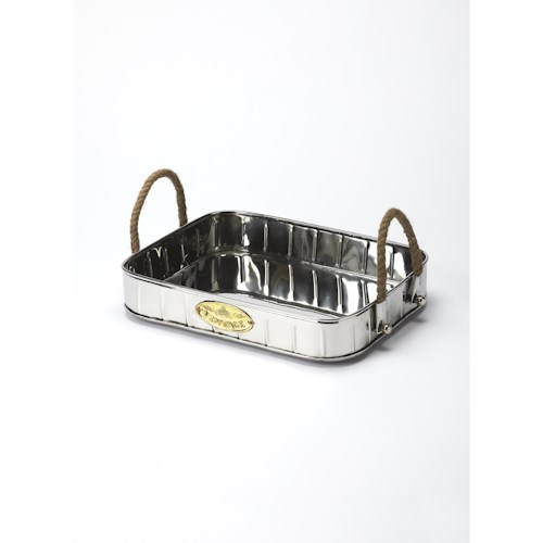 Butler Specialty Company Hors D'oeuvres Stainless Steel Serving Tray