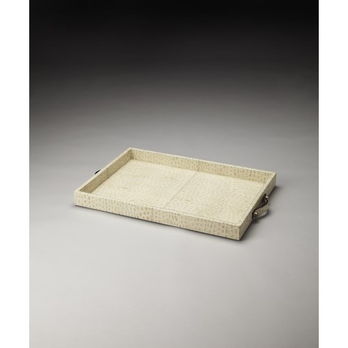 Butler Specialty Company Hors D'oeuvres Grazie Leather Serving Tray