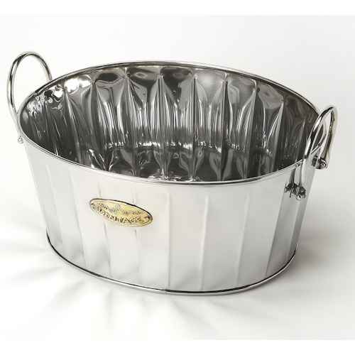 Butler Specialty Company Hors D'oeuvres Santa Rosa Oval Wine Bucket