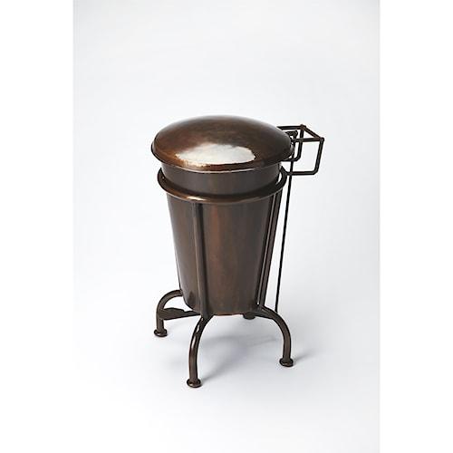 Butler Specialty Company Industrial Chic Copper Dust Bin
