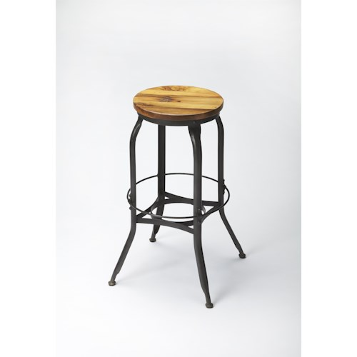 Butler Specialty Company Industrial Chic Industrial Chic Bar Stool