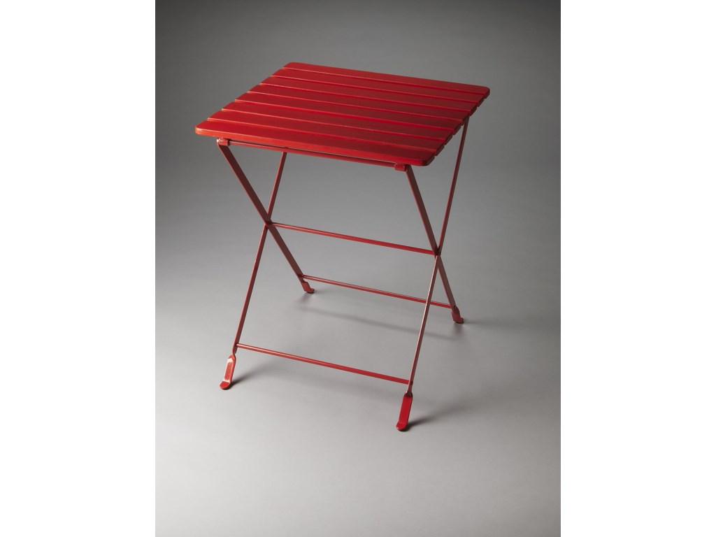 Butler Specialty Company Industrial ChicFolding Side Table