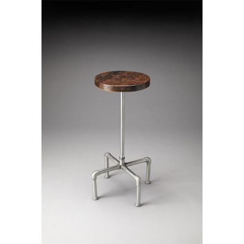 Butler Specialty Company Industrial Chic Piper Wood & Metal Bar Stool