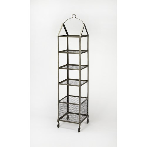 Butler Specialty Company Industrial Chic Trammel Industrial Chic Etagere