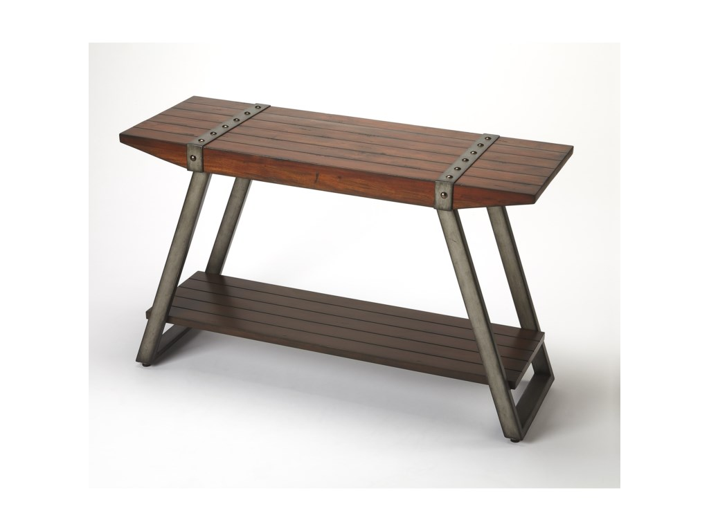 Butler Specialty Company Industrial ChicConsole Table