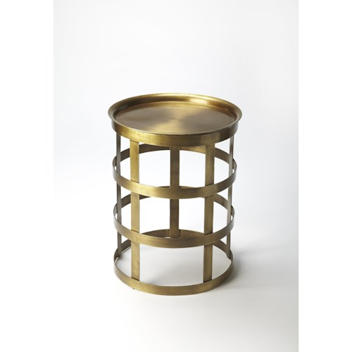 Butler Specialty Company Industrial Chic Regis Industrial Chic Accent Table