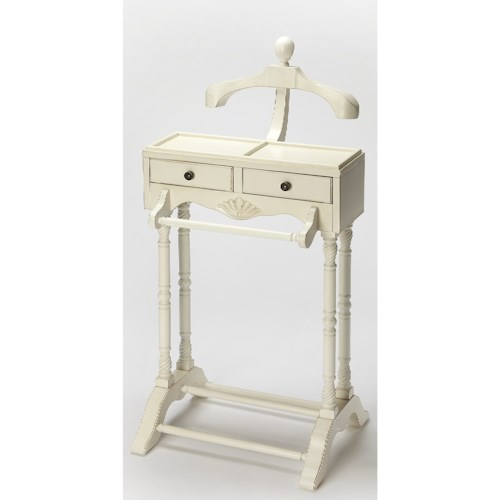Butler Specialty Company Masterpiece Petrov Cottage White Valet