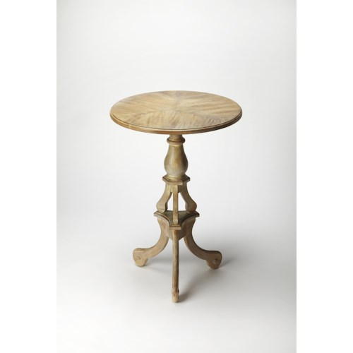 Butler Specialty Company Masterpiece  Allenby Driftwood Pedestal Table