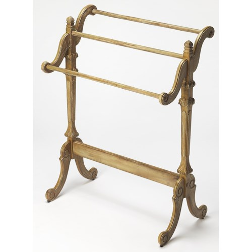 Butler Specialty Company Masterpiece  Newhouse Driftwood Blanket Stand