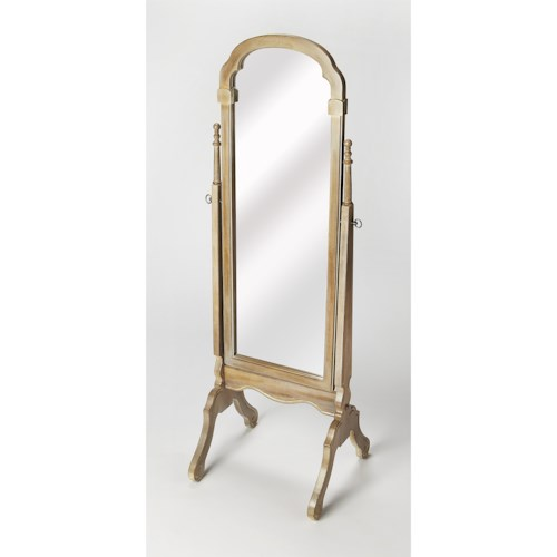 Butler Specialty Company Masterpiece  Meredith Driftwood Cheval Mirror