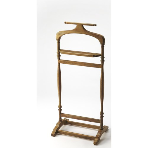 Butler Specialty Company Masterpiece  Judson Driftwood Valet Stand