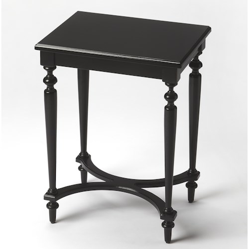 Butler Specialty Company Masterpiece Tyler Black Licorice Accent Table