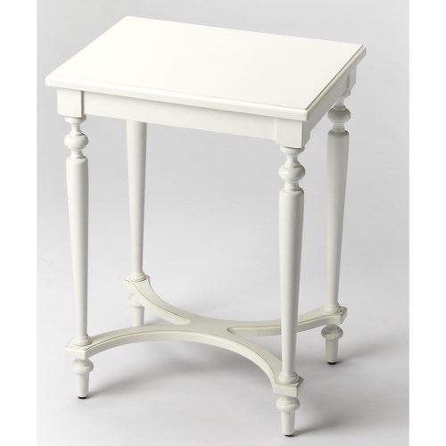 Butler Specialty Company Masterpiece Tyler Cottage White Accent Table
