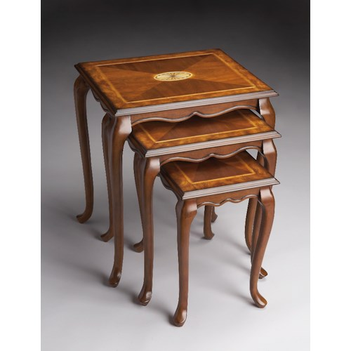 Butler Specialty Company Masterpiece  Nest Of Tables