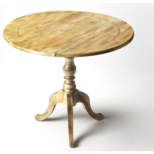 Butler Specialty Company Masterpiece Dunlay Driftwood Drop Leaf Accent Table