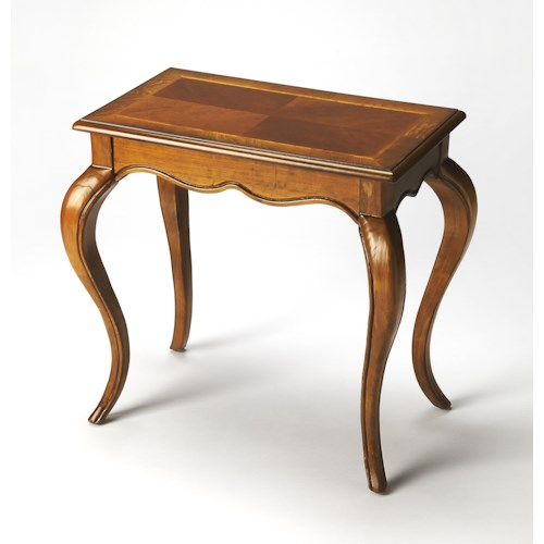 Butler Specialty Company Masterpiece  Daffney Olive Ash Burl Accent Table