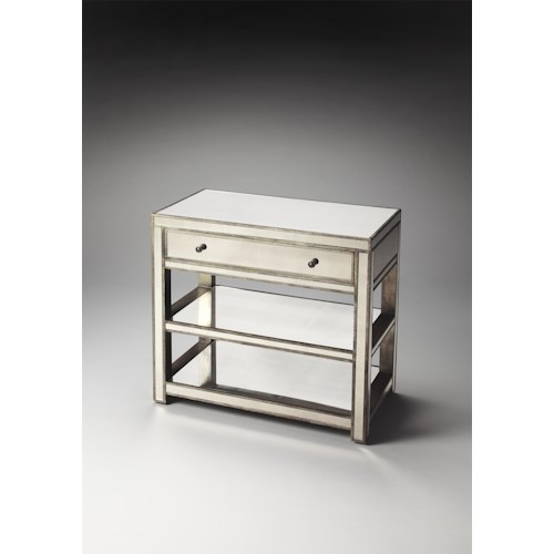Butler Specialty Company Masterpiece  Miranda Mirrored Console Table