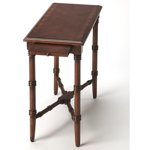 Butler Specialty Company Masterpiece Skilling Antique Cherry Chairside Table
