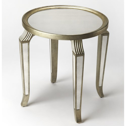 Butler Specialty Company Masterpiece  Monroe Mirror Accent Table