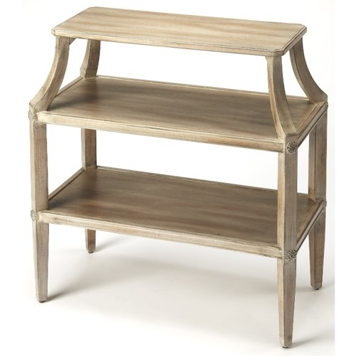 Butler Specialty Company Masterpiece Appleton Driftwood Tiered Console Table