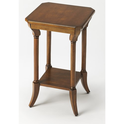 Butler Specialty Company Masterpiece  Darla Antique Cherry End Table