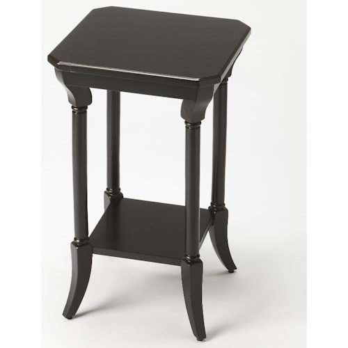 Butler Specialty Company Masterpiece Darla Black Licorice End Table