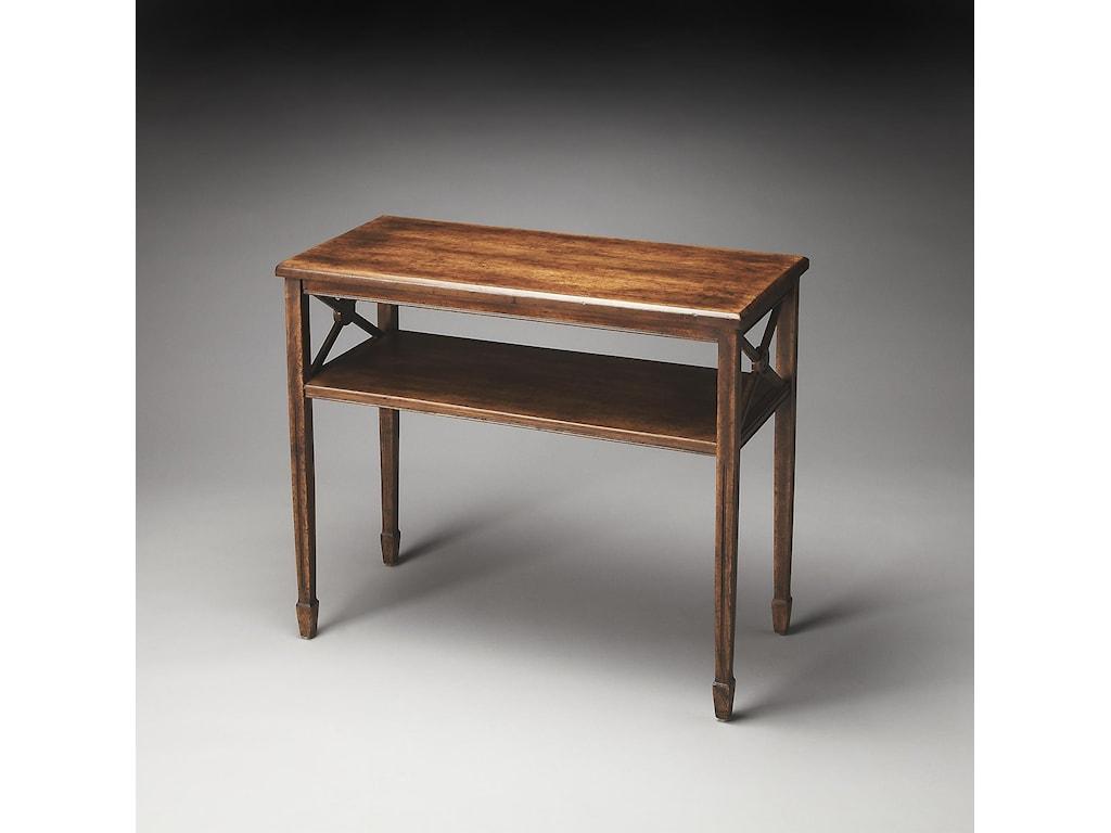 Butler Specialty Company Masterpiece Alcott Dark Toffee Console Table