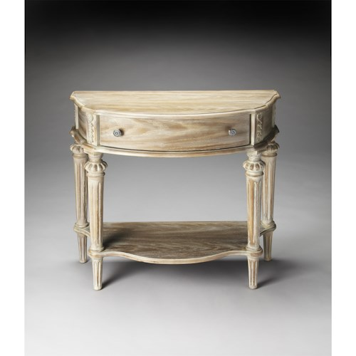 Butler Specialty Company Masterpiece  Halifax Driftwood Console Table