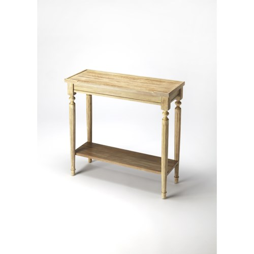Butler Specialty Company Masterpiece  Aubrey Driftwood Console Table