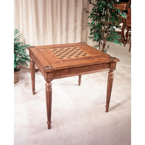 Butler Specialty Company Masterpiece  Vincent Antique Cherry Multi-game Card Table