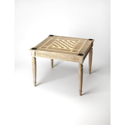 Butler Specialty Company Masterpiece  Vincent Driftwood Multi-game Card Table