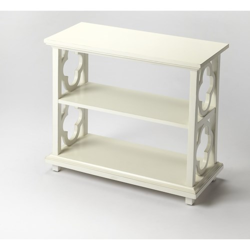 Butler Specialty Company Masterpiece Paloma Cottage White Bookcase